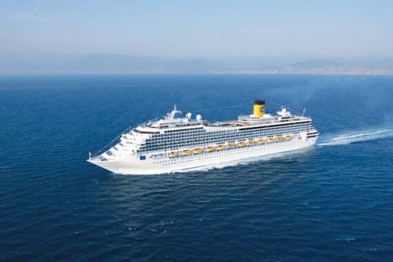 Costa Deliziosa: Schiffstaufe im Orient