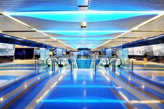 Neue Metro-Haltestellen in Betrieb