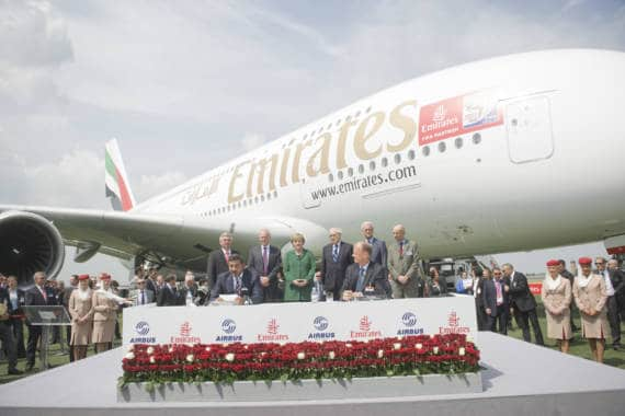 Flottenexpansion bei Emirates: 32 weitere Airbus A380