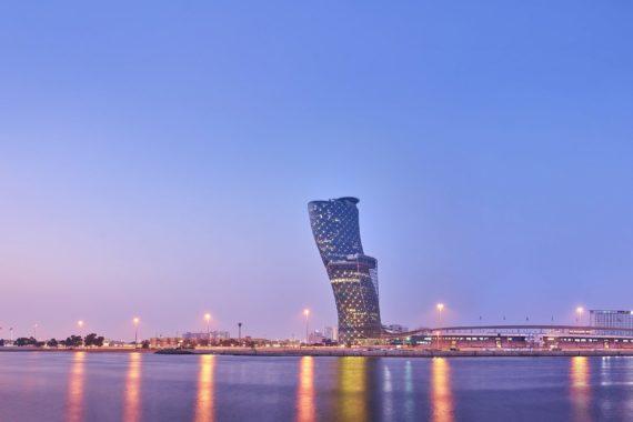 Der schiefe Turm von Abu Dhabi