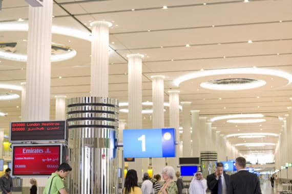 Dubai Airport: Passagieraufkommen steigt um 16 Prozent