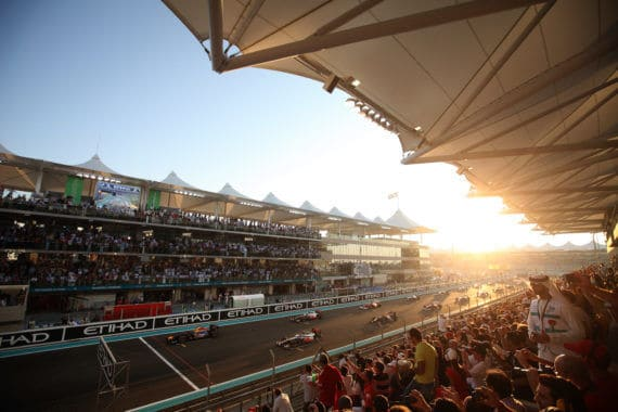 Linkin Park bei Formel 1 in Abu Dhabi