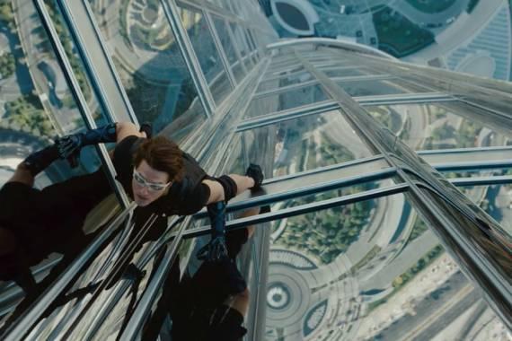Mission Impossible 4 in Dubai