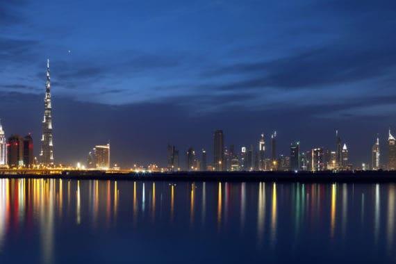 Dubais Skyline – ein Augenschmaus