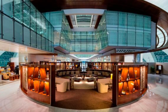 Neue Emirates Business Class Lounge