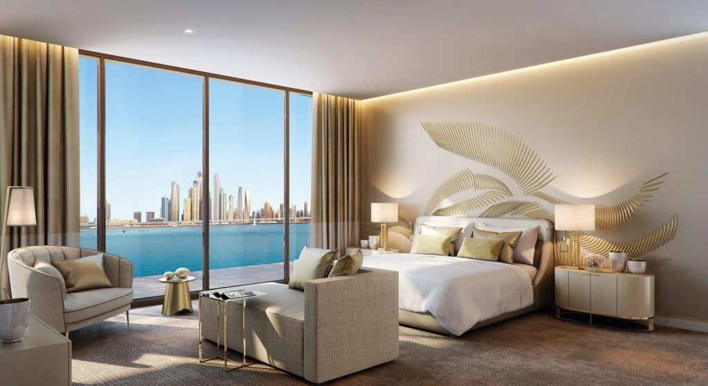 Royal Atlantis Residences Bedroom