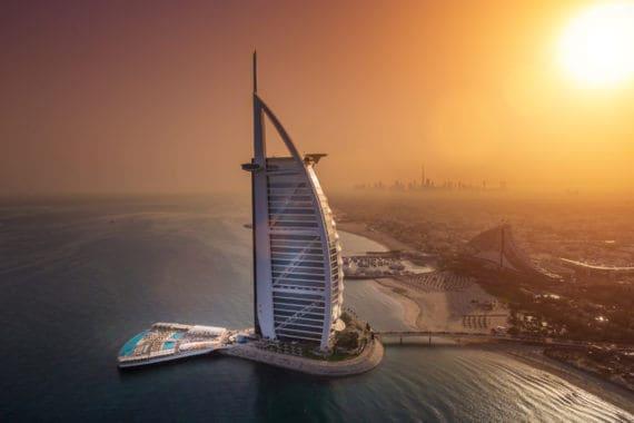Burj Al Arab mit neuer Terrasse