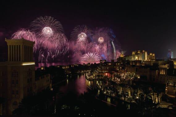 Dubai feiert Nationalfeiertag