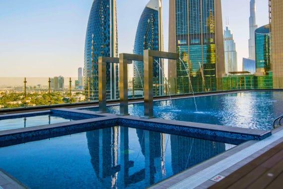 Höchstes Hotel der Welt eröffnet