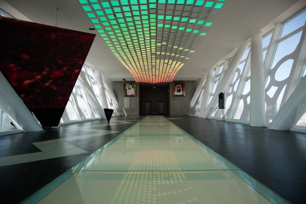 Aussichtsplattform Dubai Frame