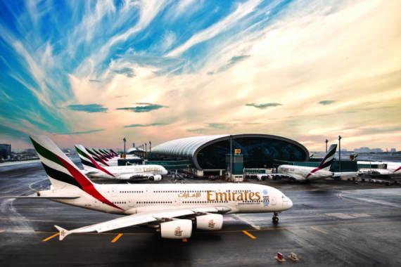 Flughafen Dubai Stopover