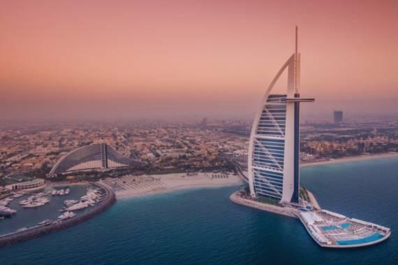 Dubai Reisetipps Helikopterflug Touren