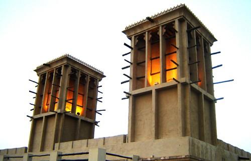 Dubai Geschichte Windturm