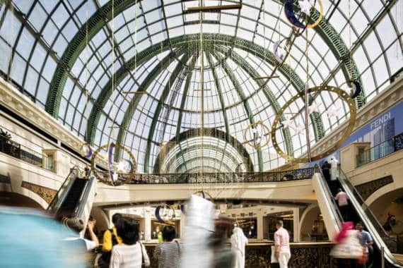 Mall of the Emirates: Eröffnung des Fashion Dome