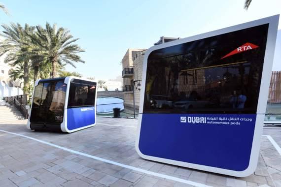 Autonome Fahrzeuge in Dubai getestet