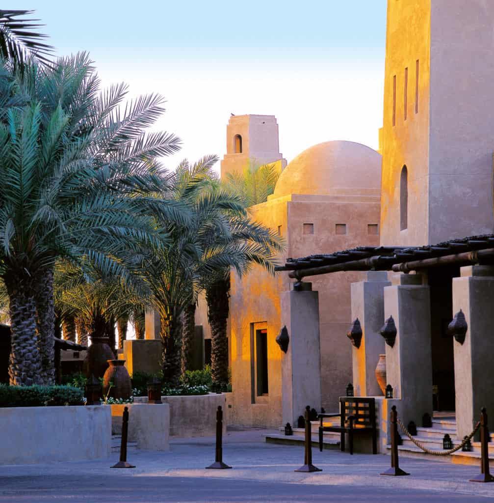 Außengelände Bab Al Shams