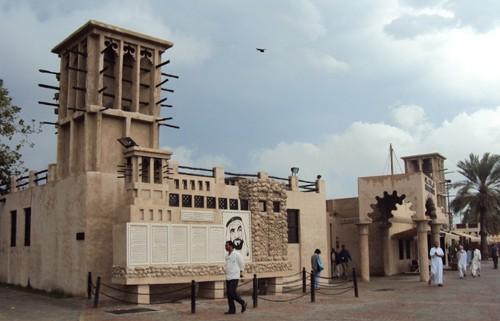 Dubai Viertel Bastakiya Kultur