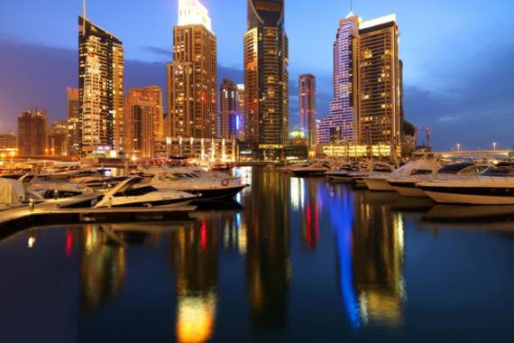 Dubai Marina & The Walk