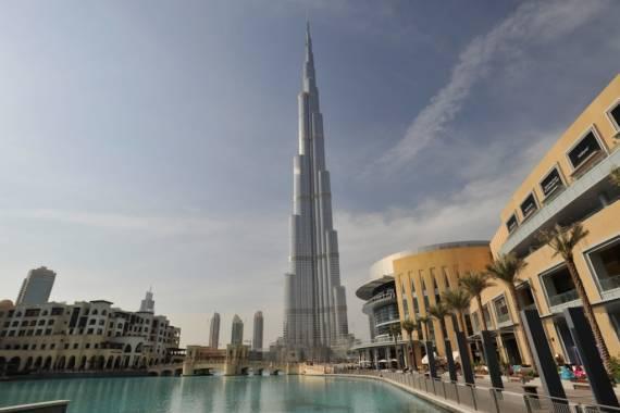 Burj Khalifa – Auf dem Dach Dubais
