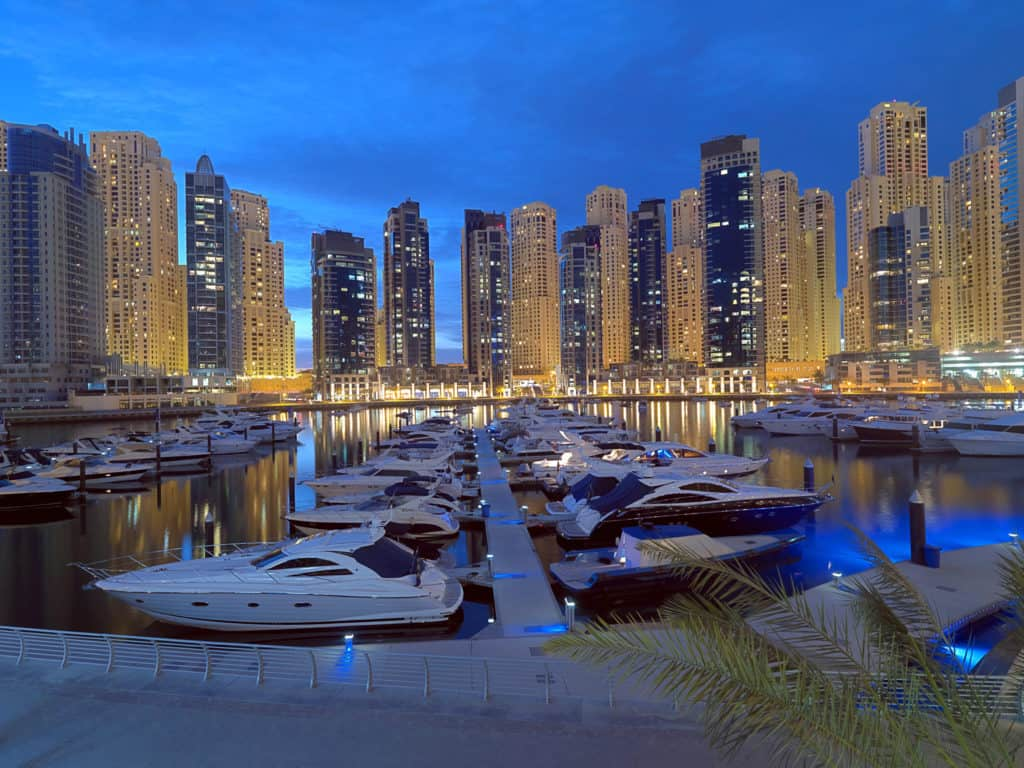 Dubai Sehenswürdigkeiten Dubai Marina