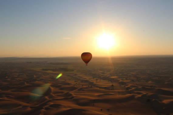 Heissluftballonfahrt