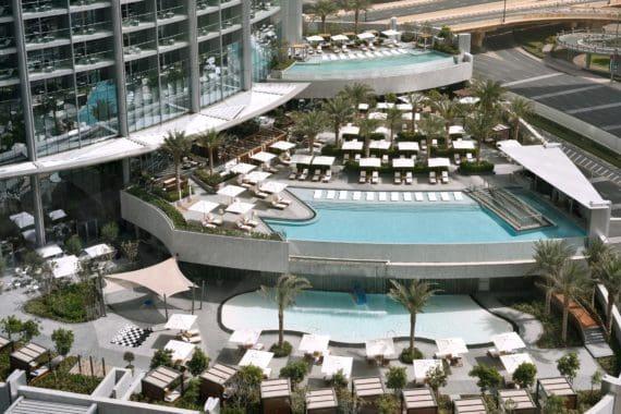 The Address Boulevard Pool