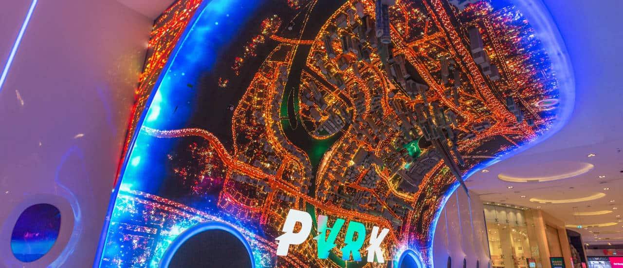 Eingang VR Park DuBai