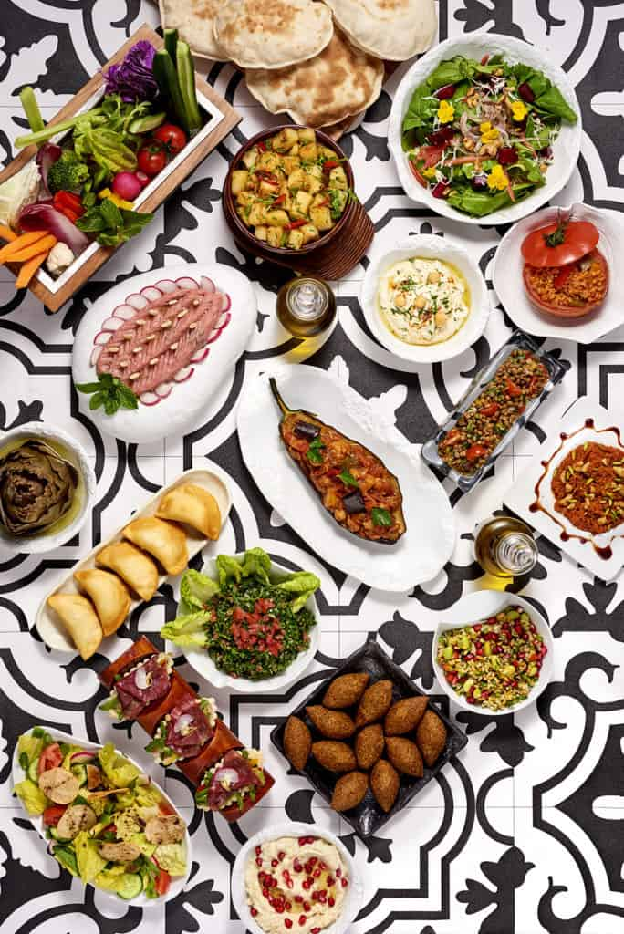 Dubai Restaurants Mezze