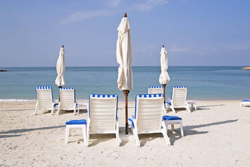 Dubai Wetter Strand und Sonne