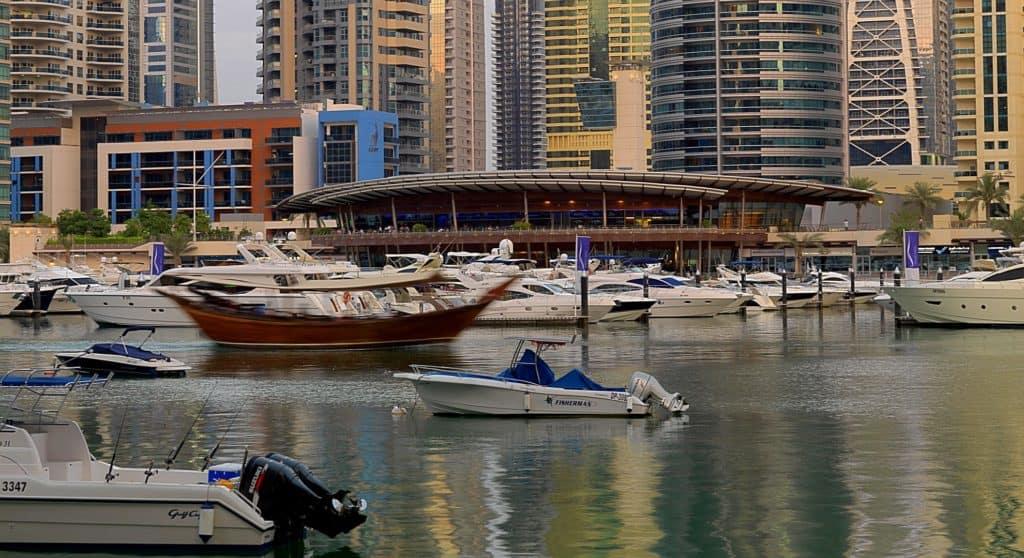 Dubai neuer Hafen Harbour