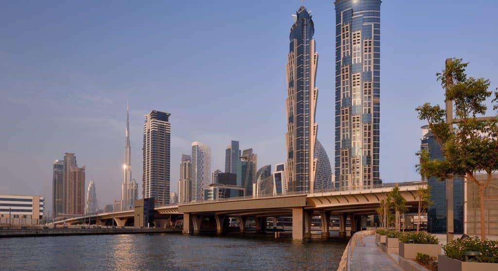 Dubai Water Canal Wasserweg