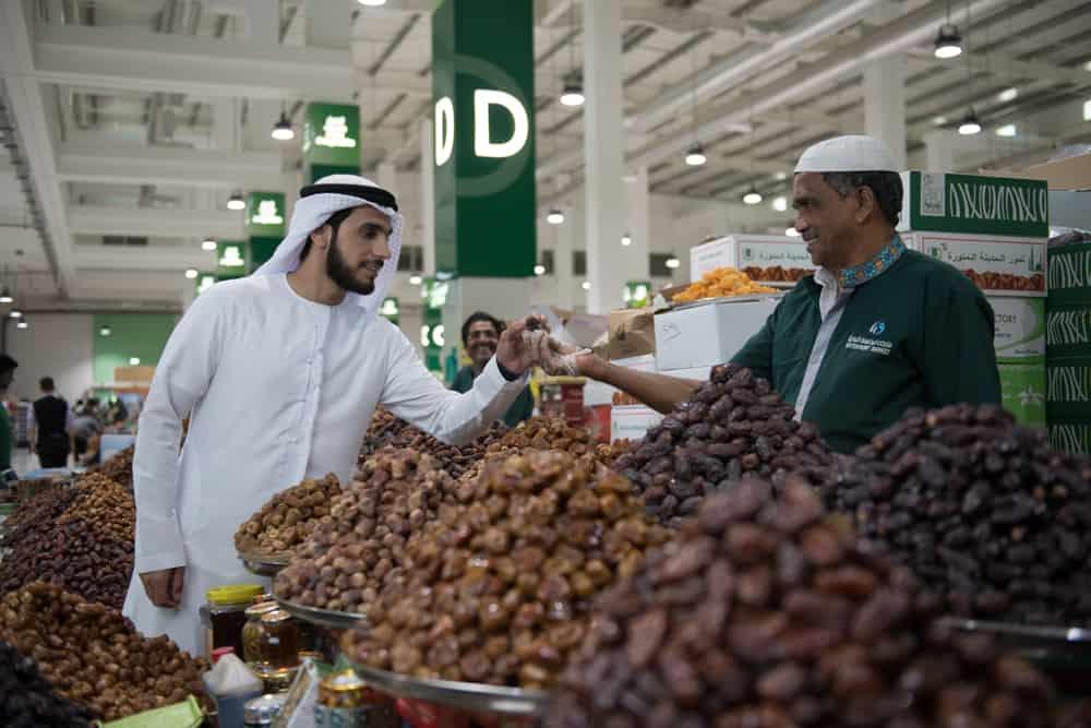 Obst- und Gemüsemarkt Dubai