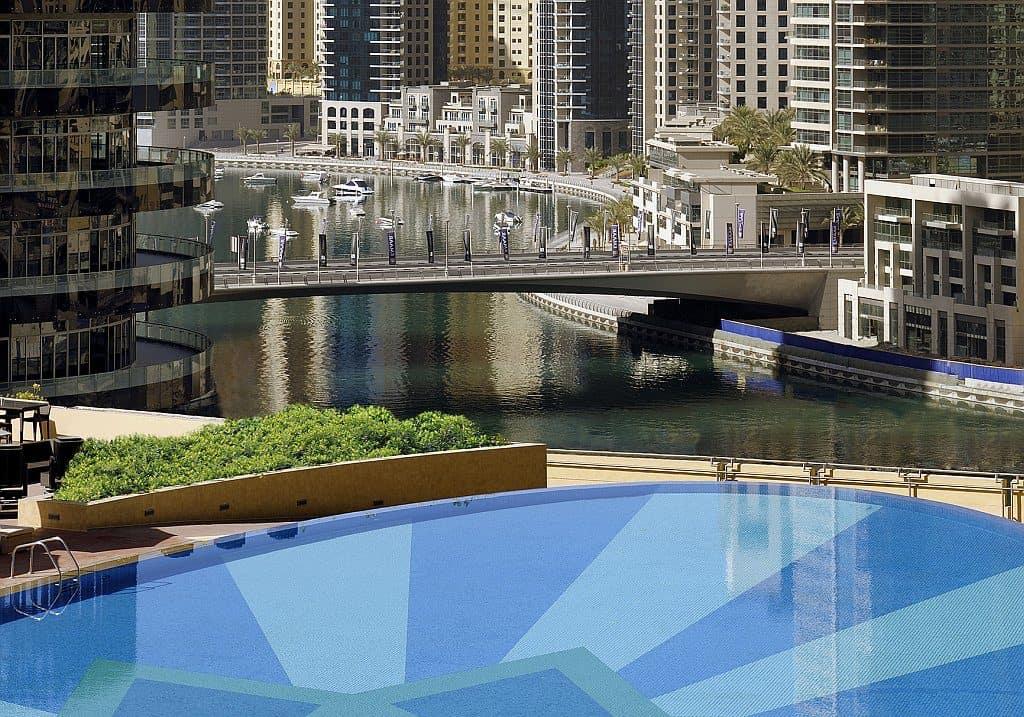 Restaurant Shades über Dubai Marina Mall