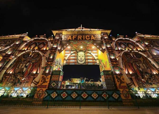 Global Village Afrika Pavillon
