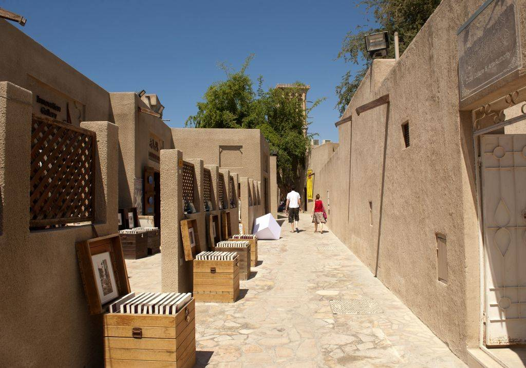 Gasse im Al Fahidi Viertel
