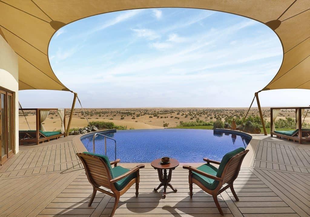 Ausblick al Maha Dubai