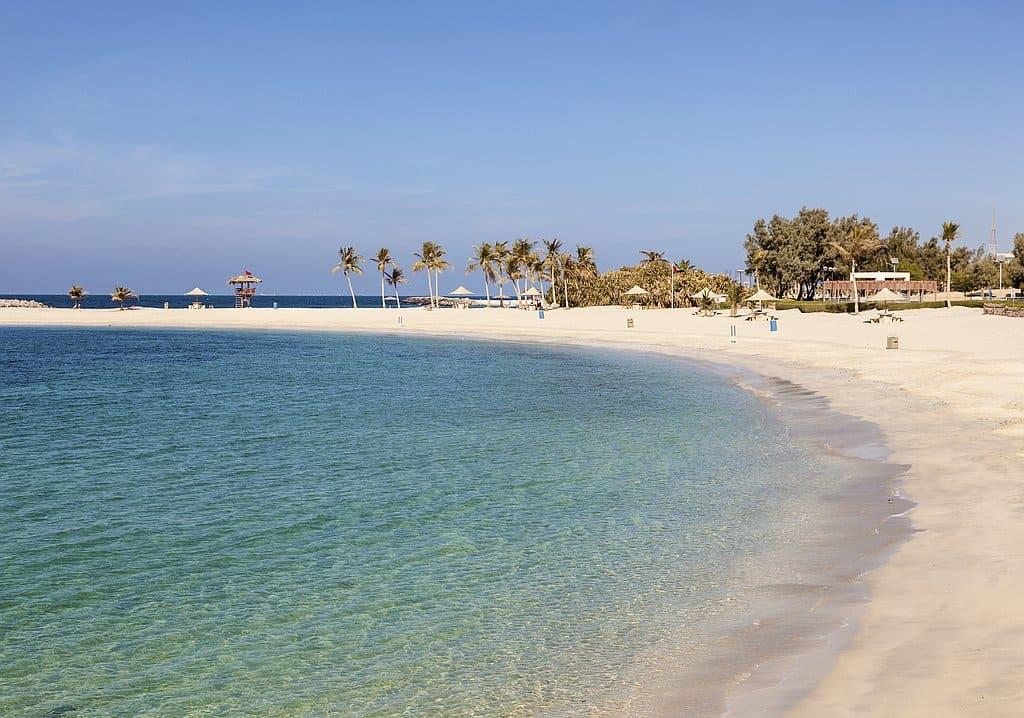 Al Mamzar Beach Dubai