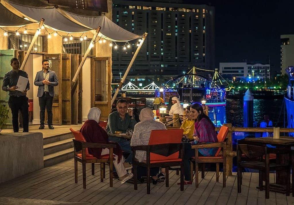 Al Seef restaurants Nightlife
