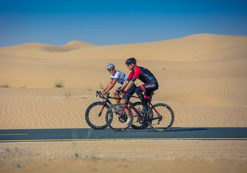 Fahrradfahren in Dubai