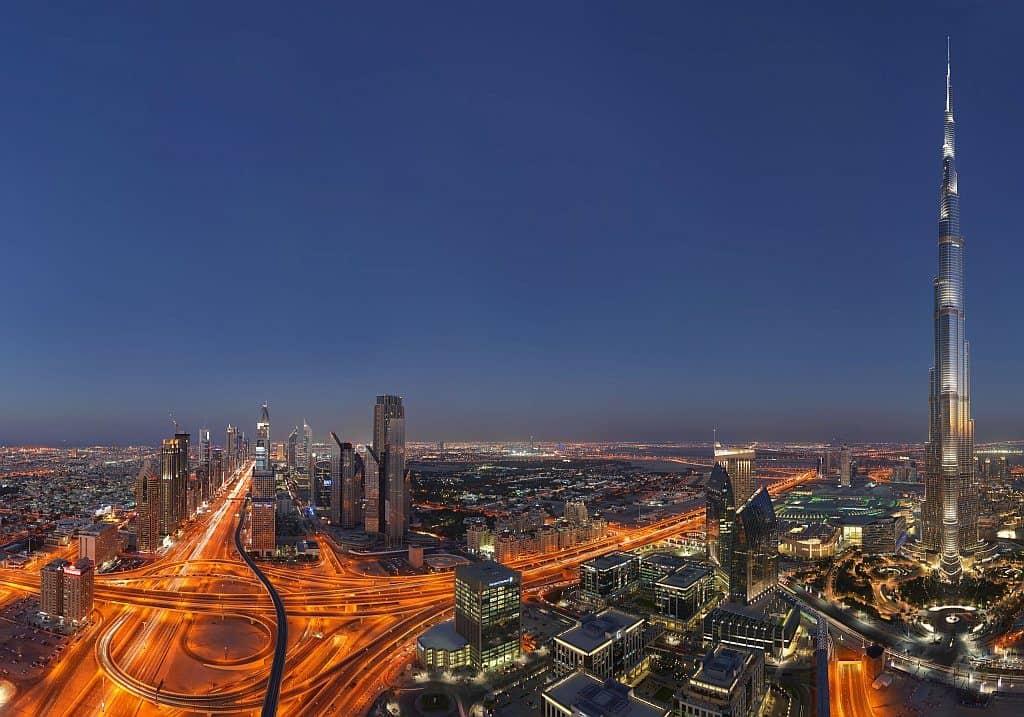 Skyline Night Dubai