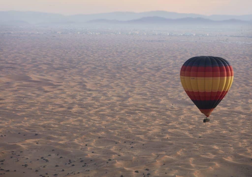 Tour Ballonfahrt Dubai