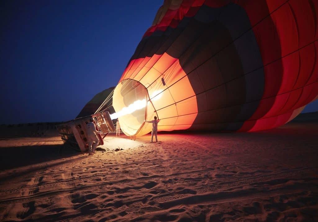 Ausflug Ballonfahrt in Dubai