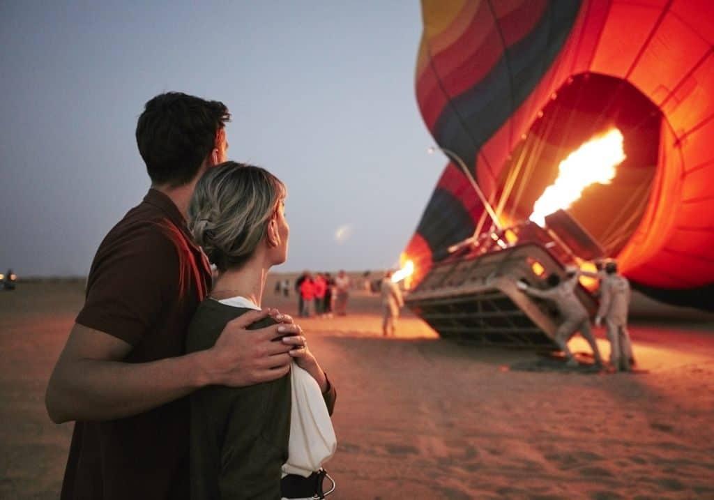 Ballonfahrt in Dubai