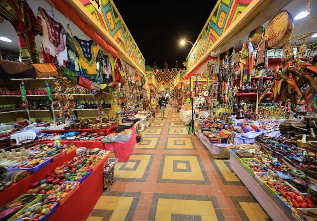Dubai Global Village Markt