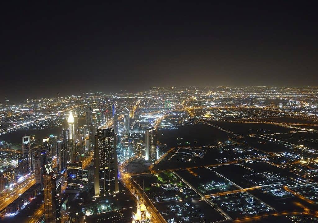 Sheikh Zayed Road Dubai Burj Khalifa