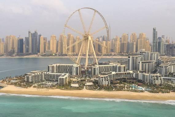 Neue Attraktion: Bluewaters Island Dubai eröffnet