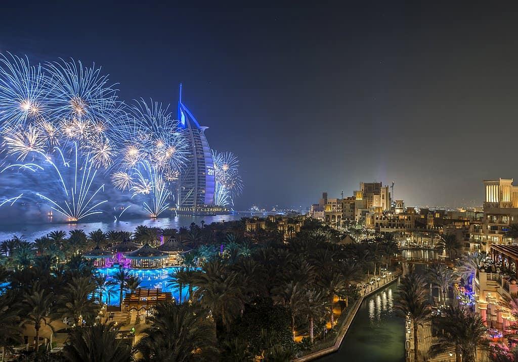 Burj Al Arab Silvester