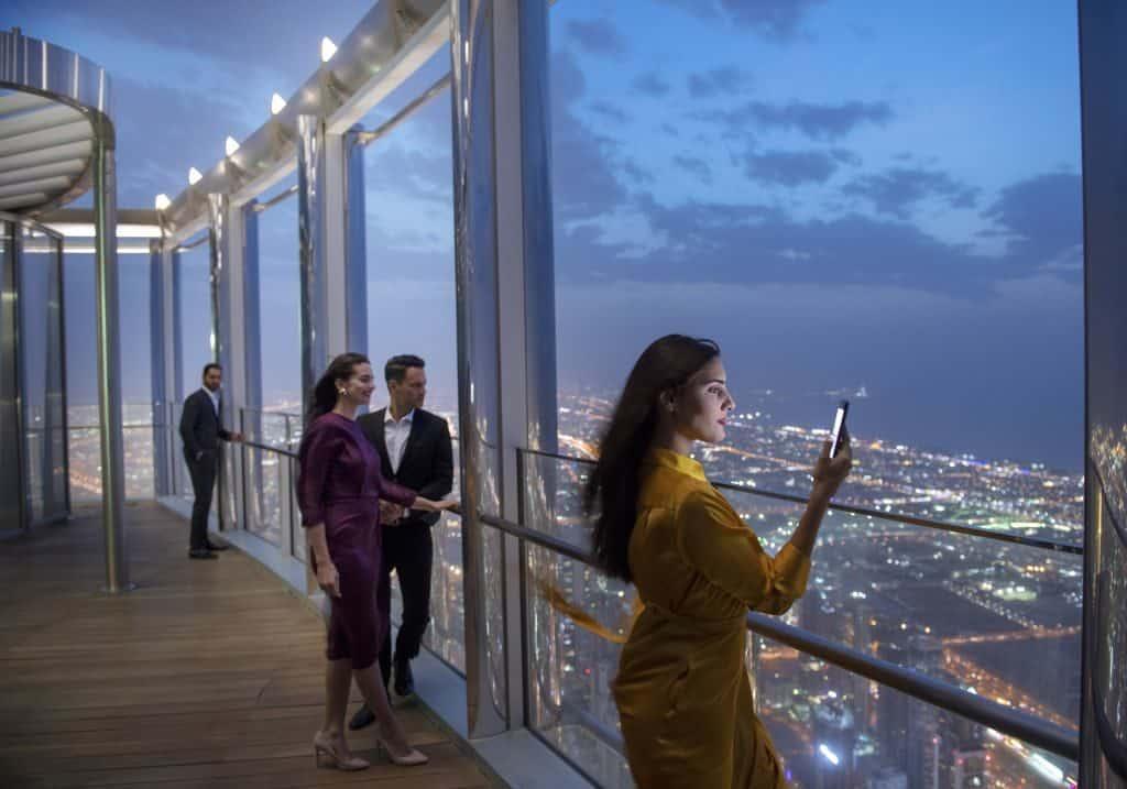 Besucherplattform Burj Khalifa