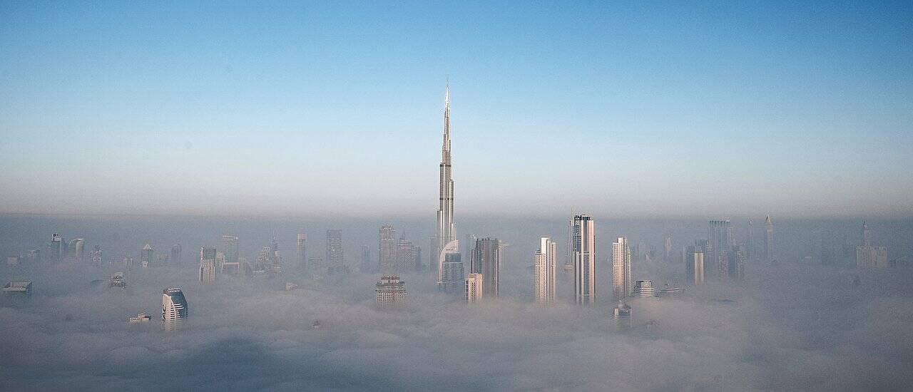 BUrj Khalifa höchstes Gebäude Dubai