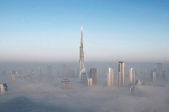 Burj Khalifa – Das höchste Gebäude der Welt steht in Dubai